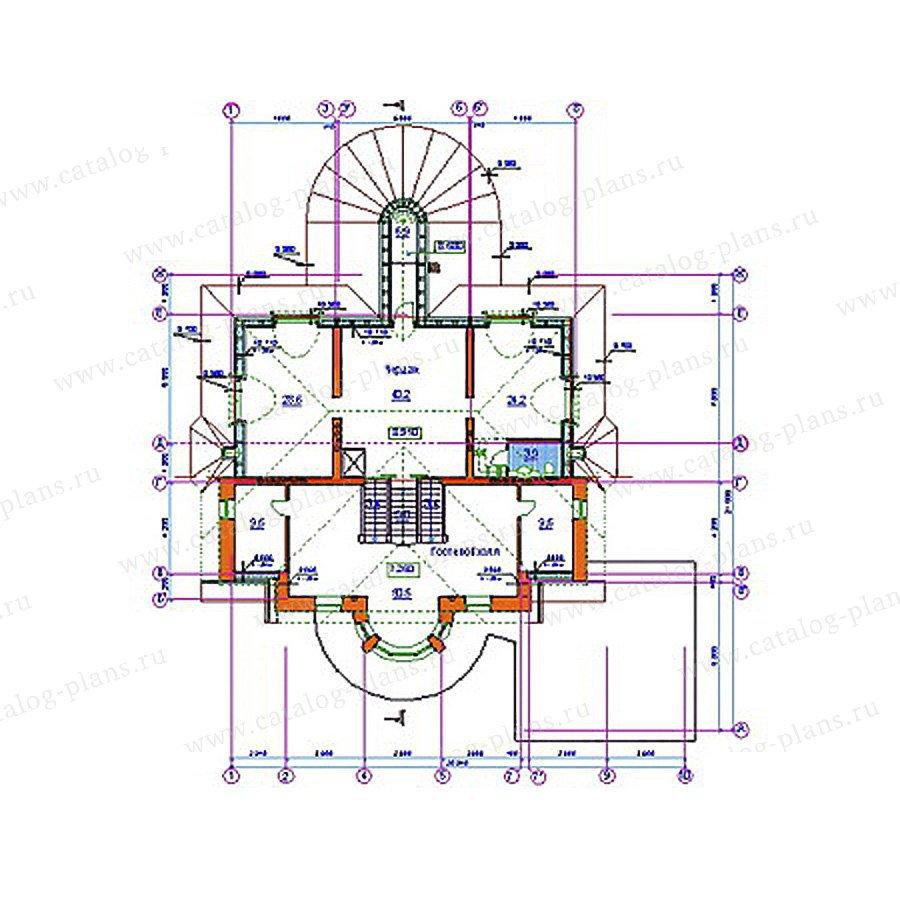 План 4-этажа проекта 34-20
