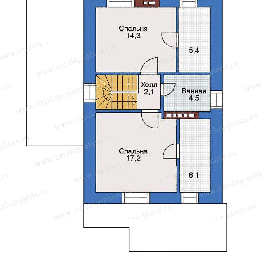 План 2-этажа проекта 34-94