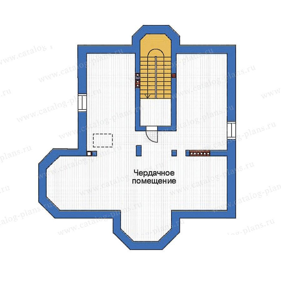 План 3-этажа проекта 34-50