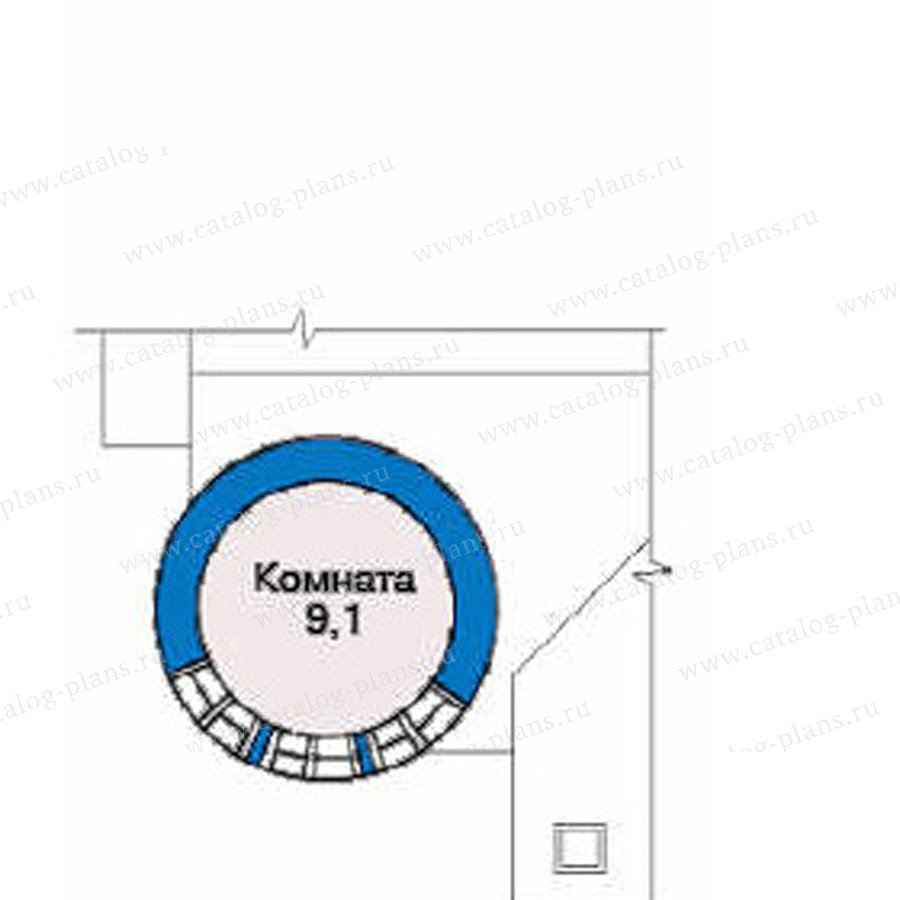 План 4-этажа проекта 34-56