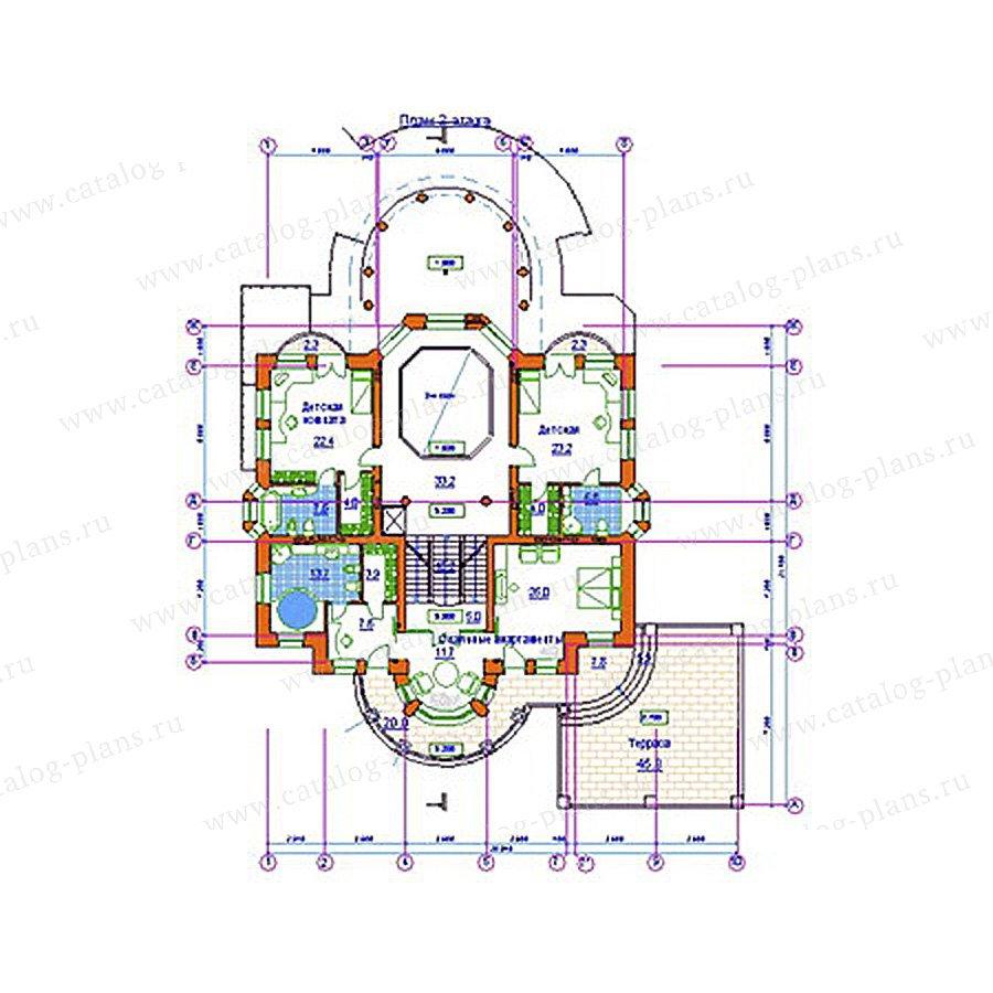 План 3-этажа проекта 34-20