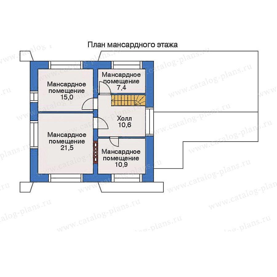 План 3-этажа проекта 34-81