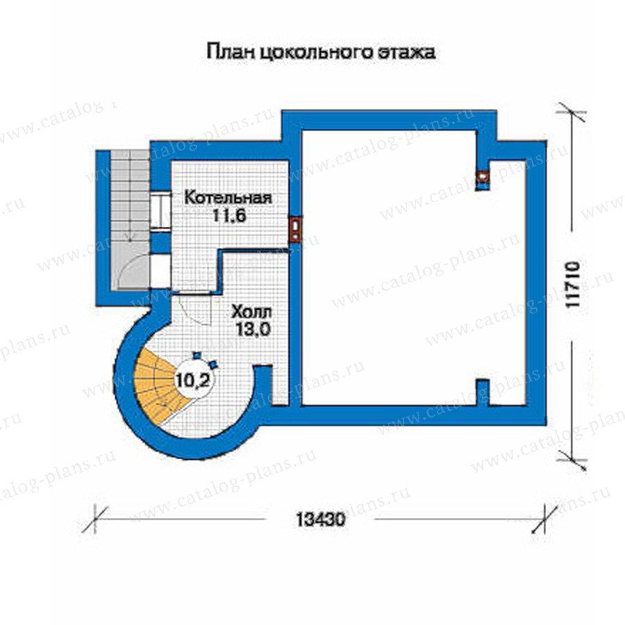 План 1-этажа проекта 34-56