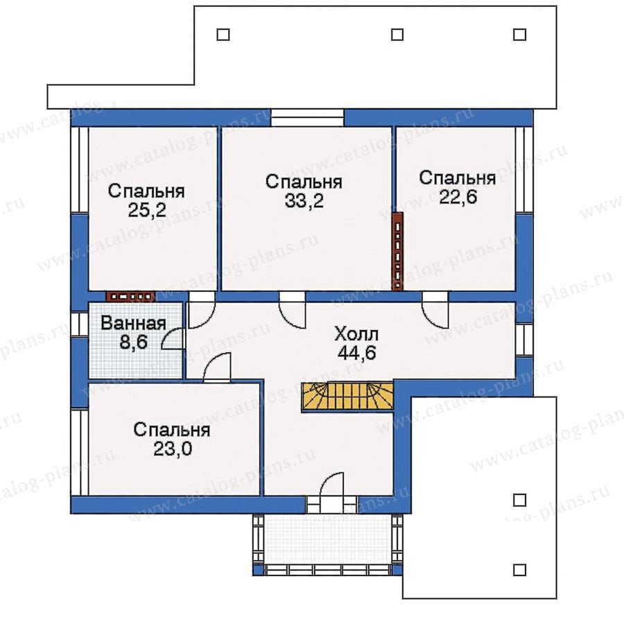 План 3-этажа проекта 33-08