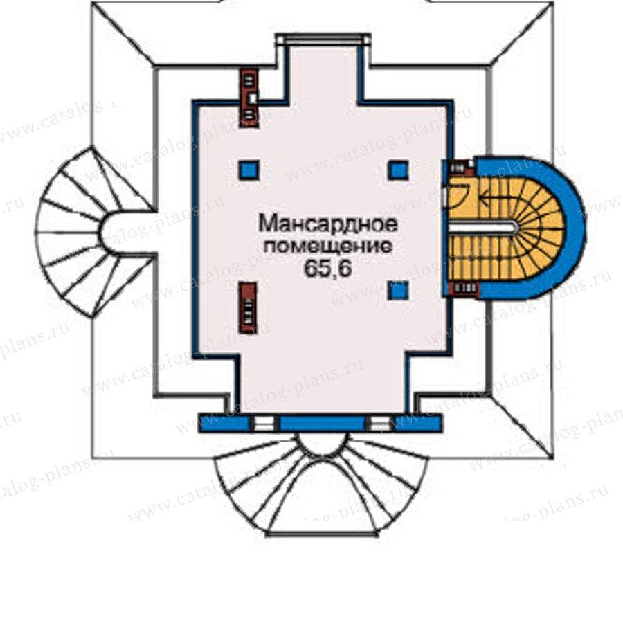 План 4-этажа проекта 33-95