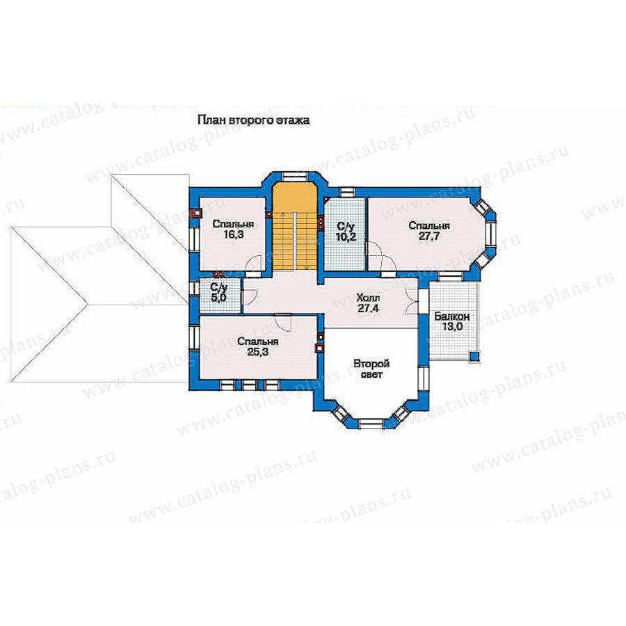 План 2-этажа проекта 33-57