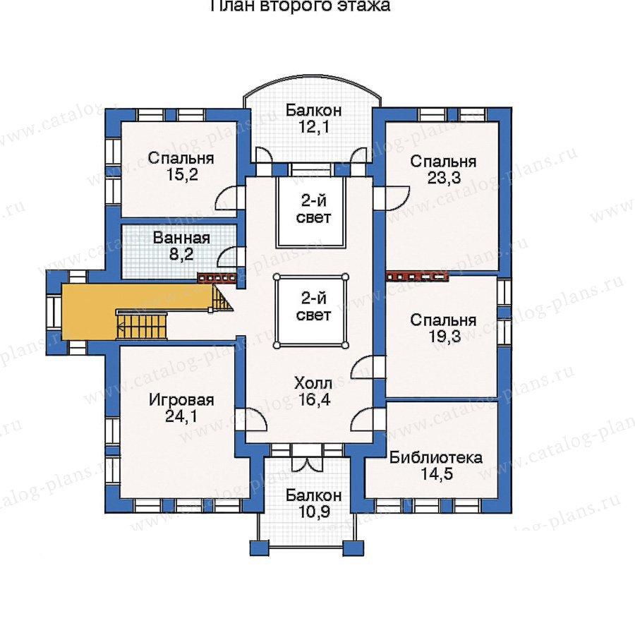 План 3-этажа проекта 33-34