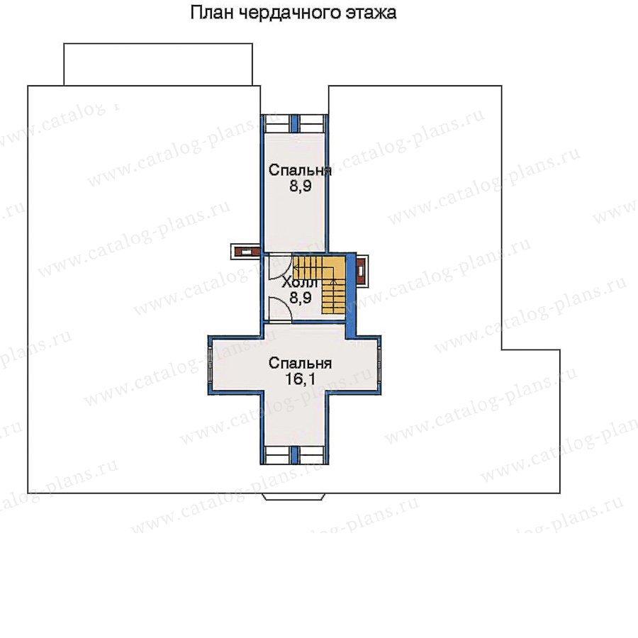План 3-этажа проекта 33-51