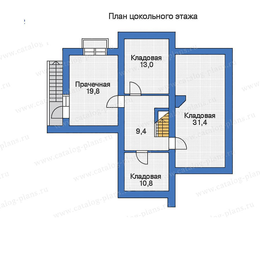 План 1-этажа проекта 33-11