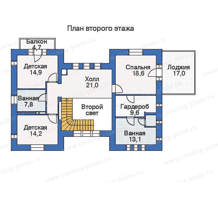 План 3-этажа проекта 33-68