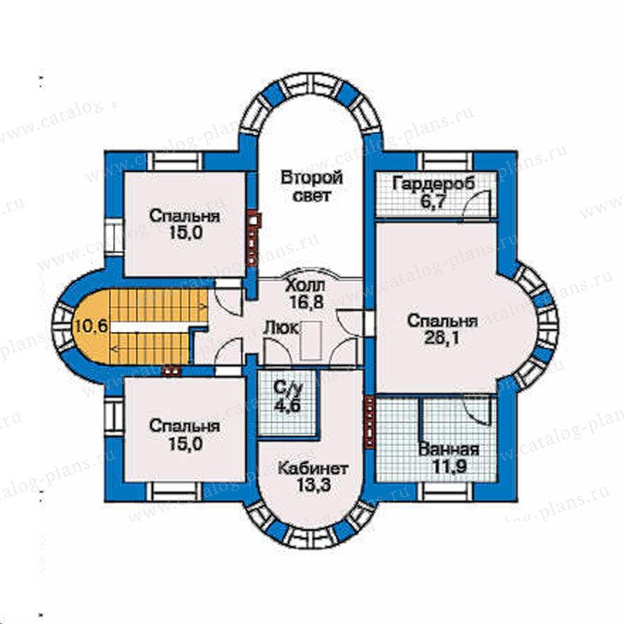 План 3-этажа проекта 33-90