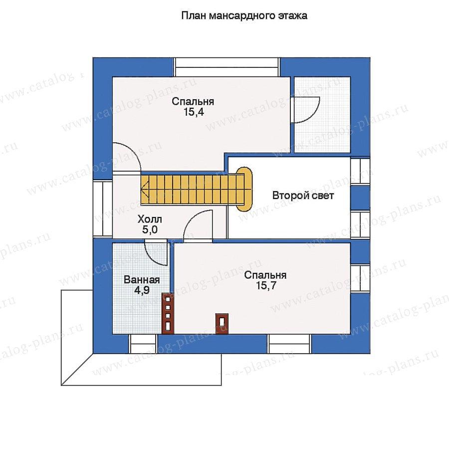 План 2-этажа проекта 33-09