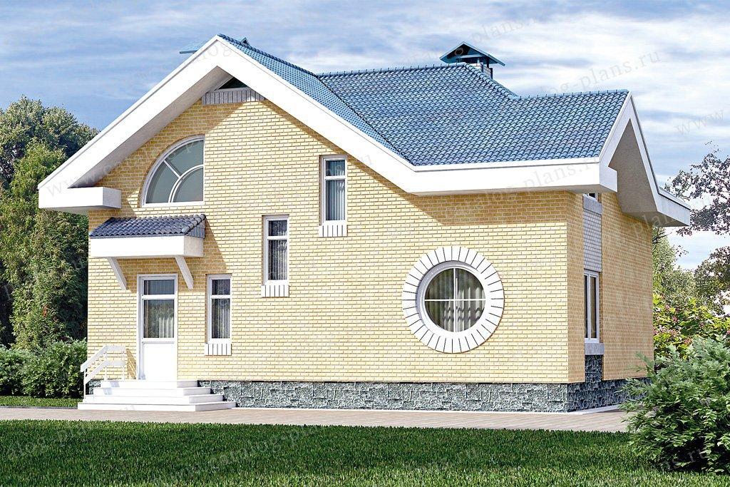 Проект жилой дом #33-40 материал - кирпич, стиль современный