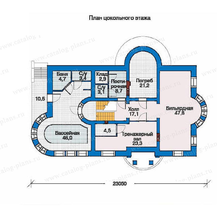 План 1-этажа проекта 33-90