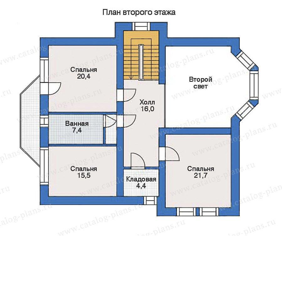 План 3-этажа проекта 33-91
