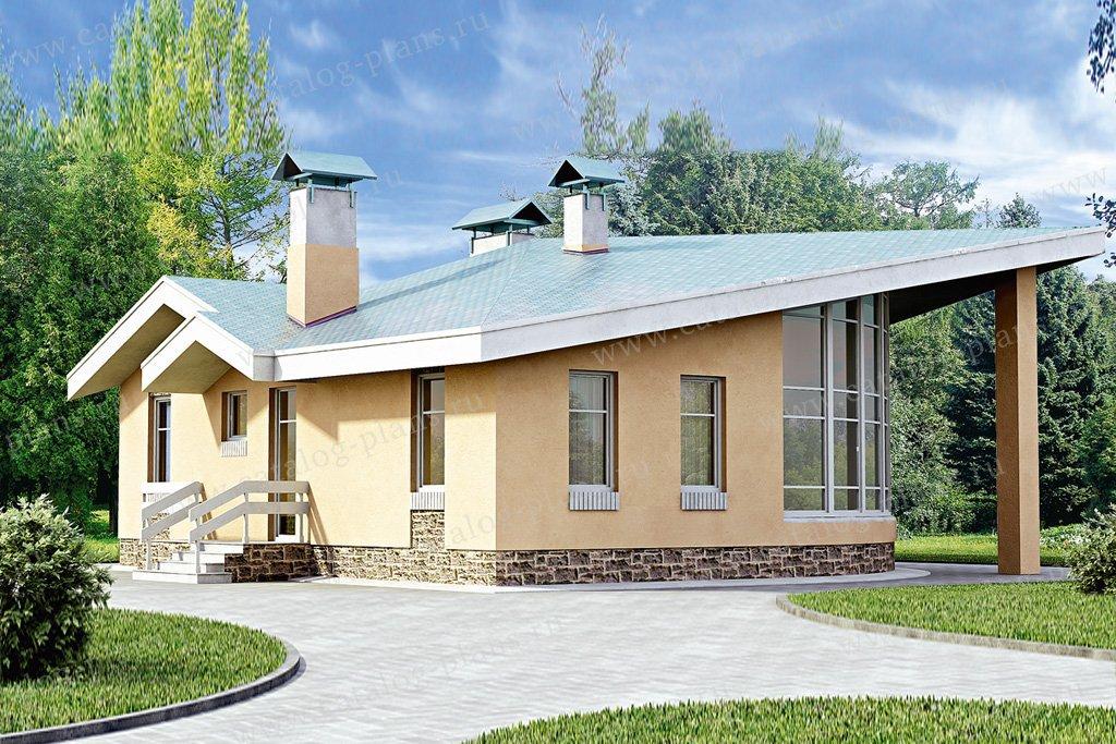 Проект жилой дом #33-39 материал - кирпич, стиль современный