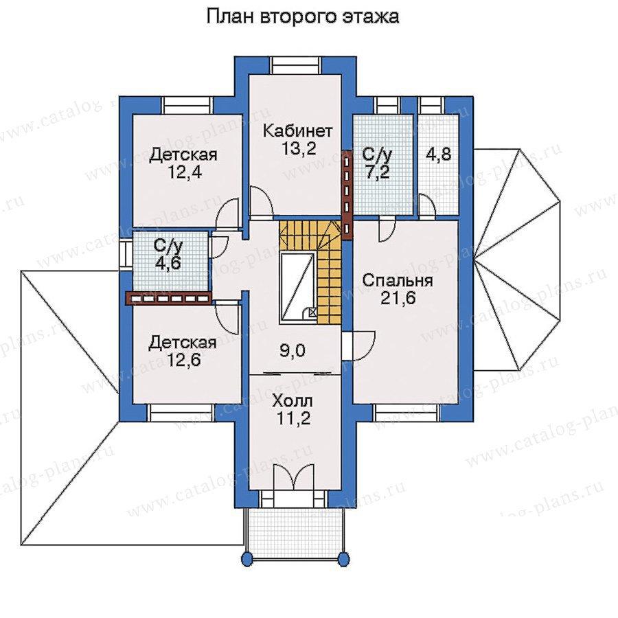 План 3-этажа проекта 33-11