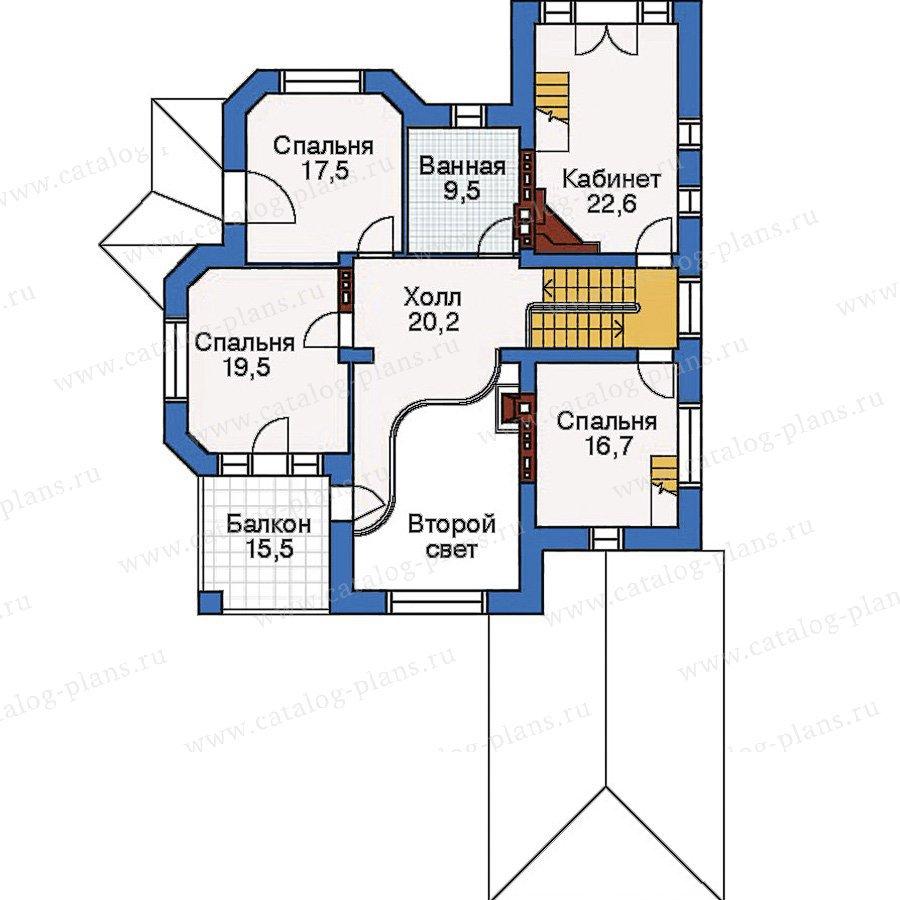 План 3-этажа проекта 33-43