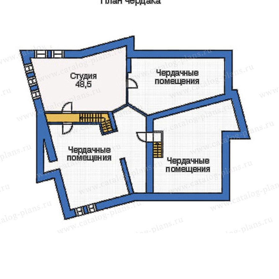 План 3-этажа проекта 33-92