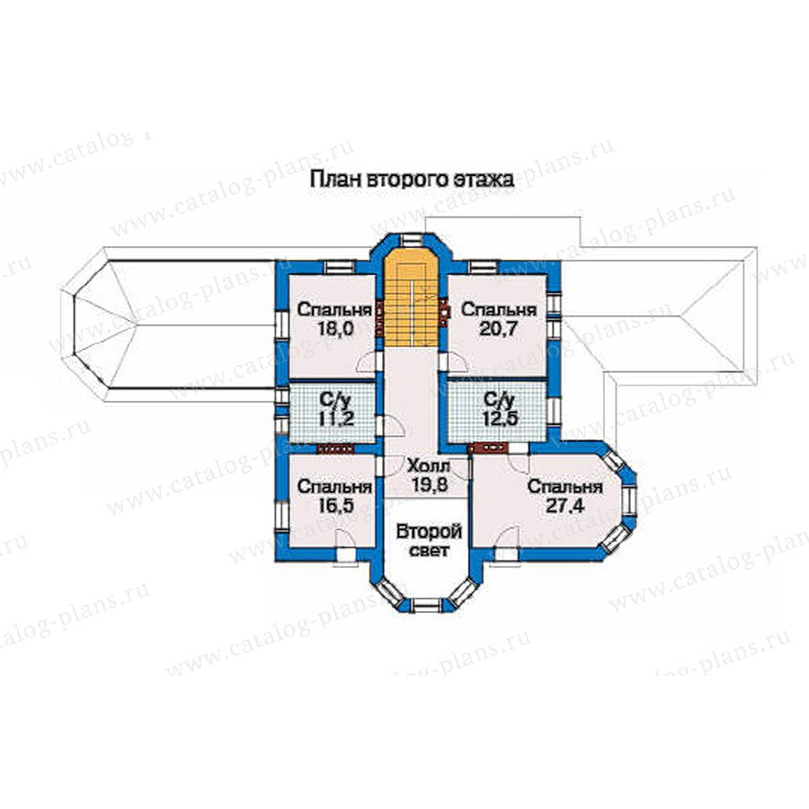 План 3-этажа проекта 33-50