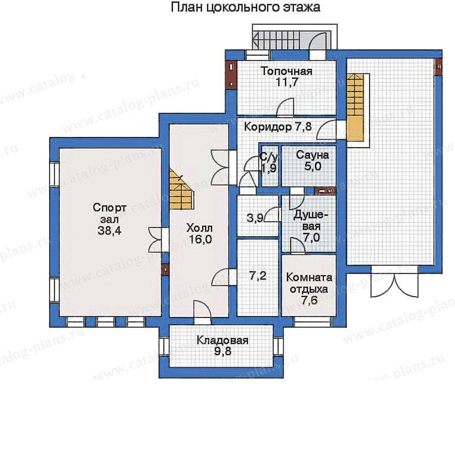 План 1-этажа проекта 33-53