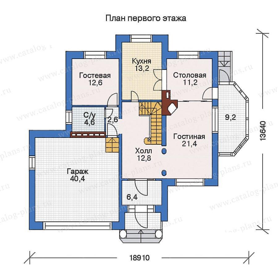 План 2-этажа проекта 33-11
