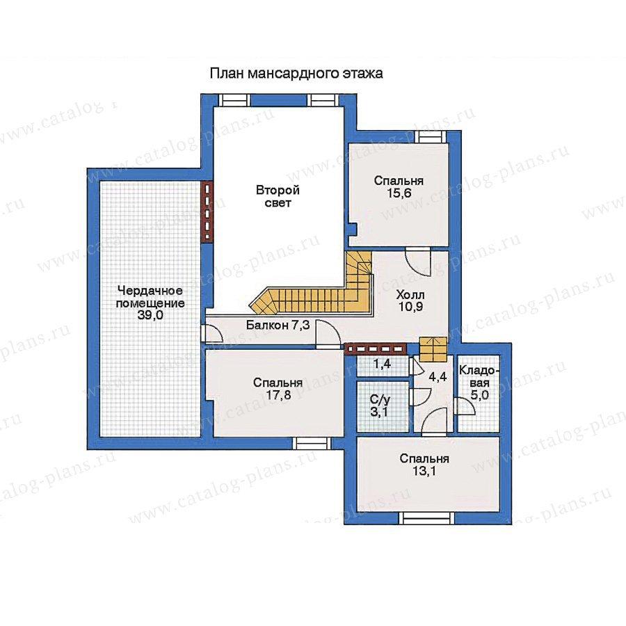 План 2-этажа проекта 31-88