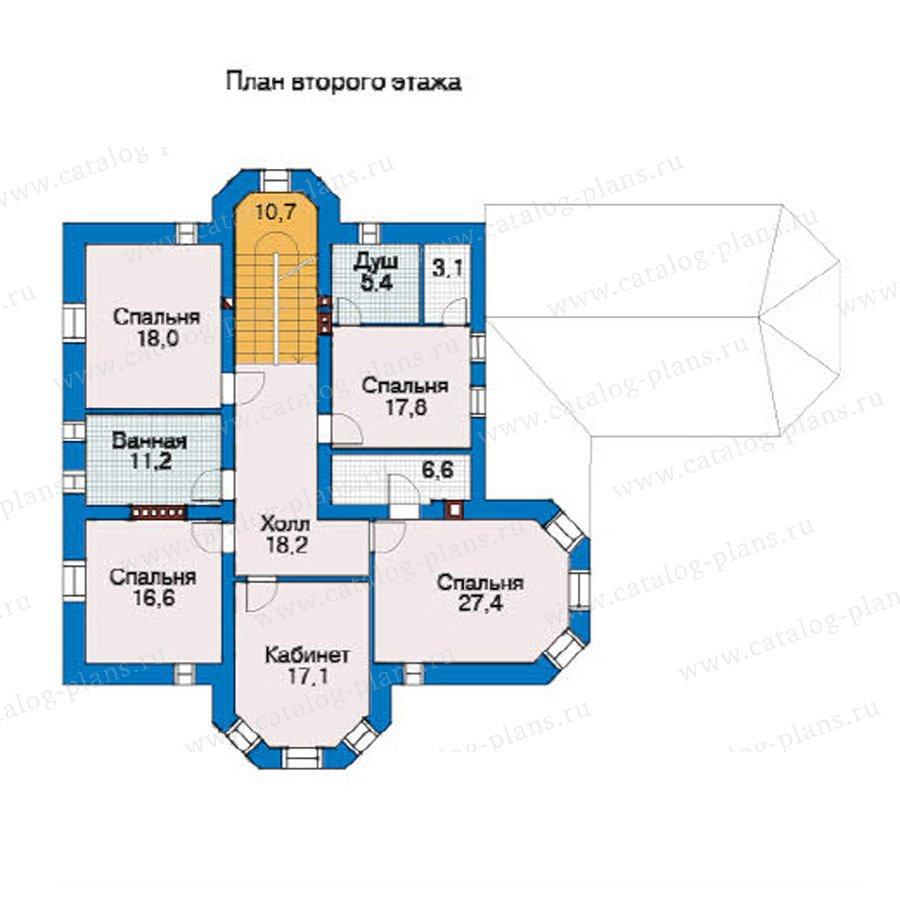 План 2-этажа проекта 31-40