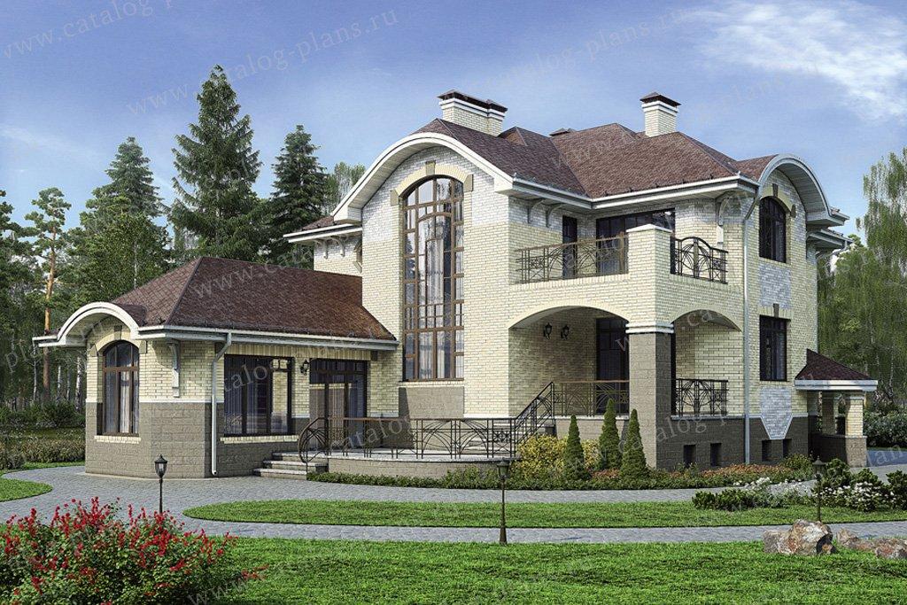 Проект жилой дом #31-41 материал - кирпич, стиль модерн