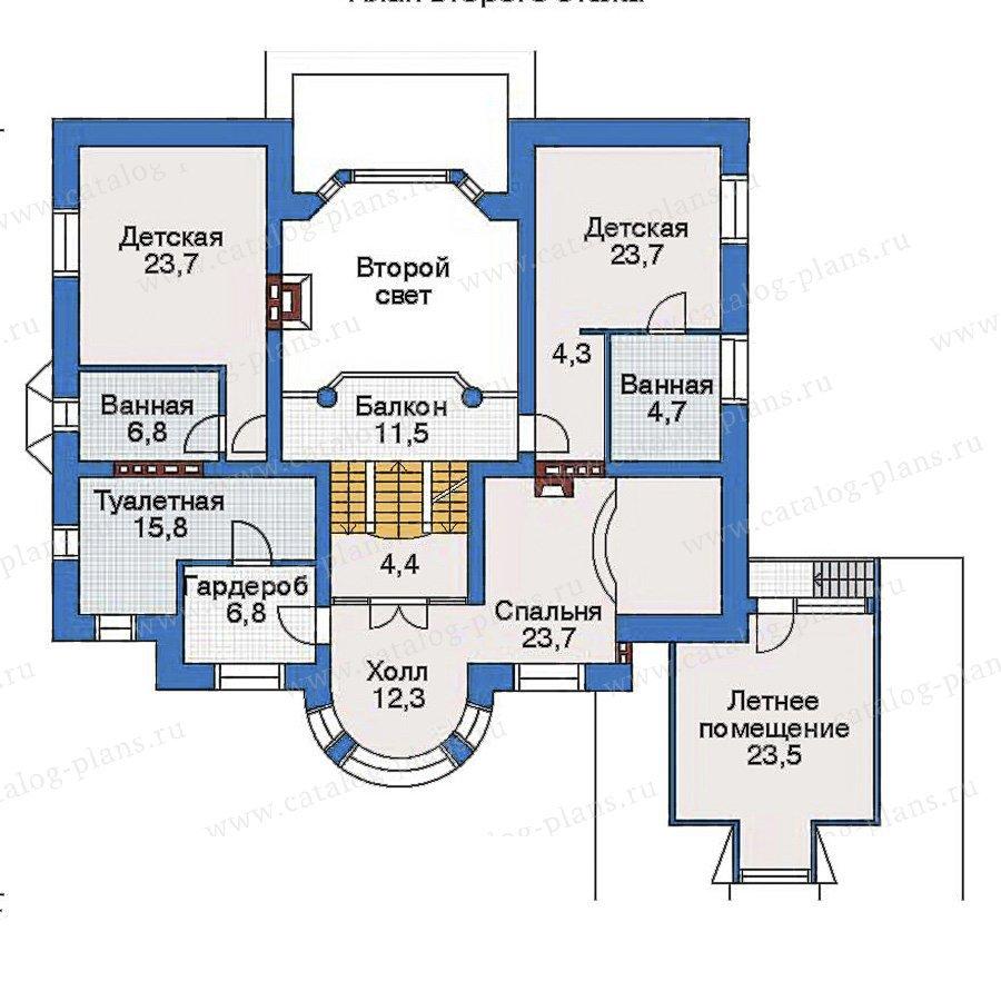 План 3-этажа проекта 31-25