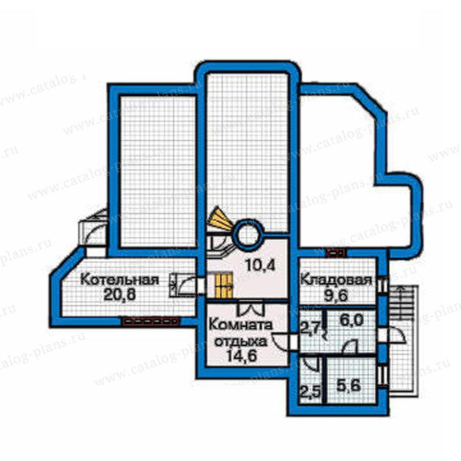 План 1-этажа проекта 31-26