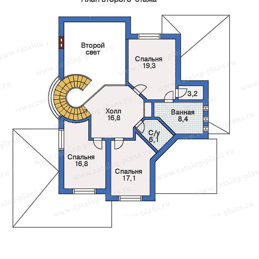 План 3-этажа проекта 31-15