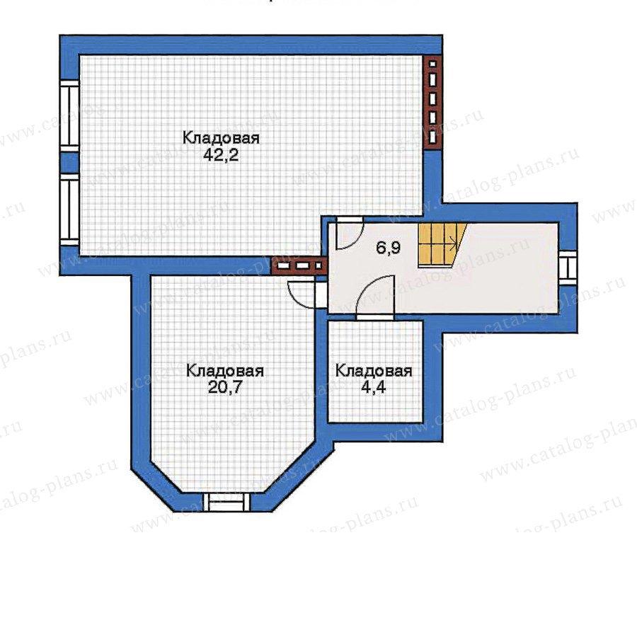 План 1-этажа проекта 31-81