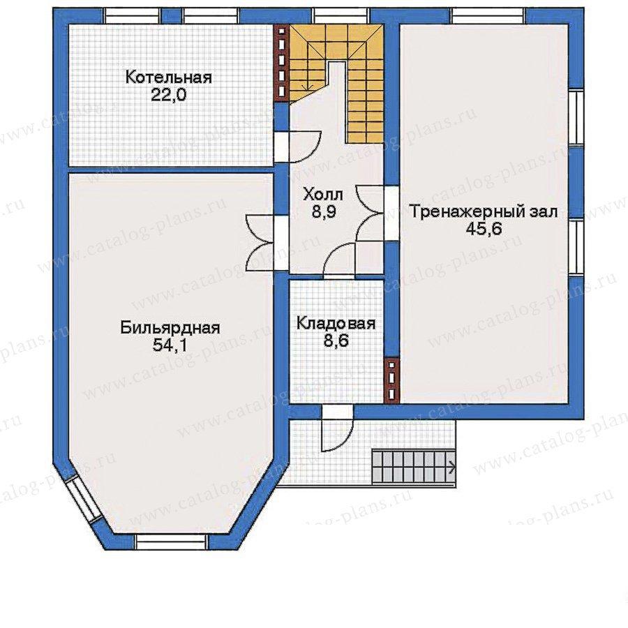 План 1-этажа проекта 31-71