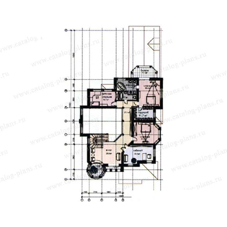 План 3-этажа проекта 31-08