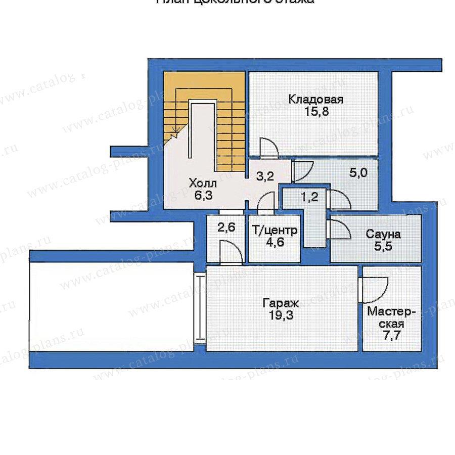 План 1-этажа проекта 31-32