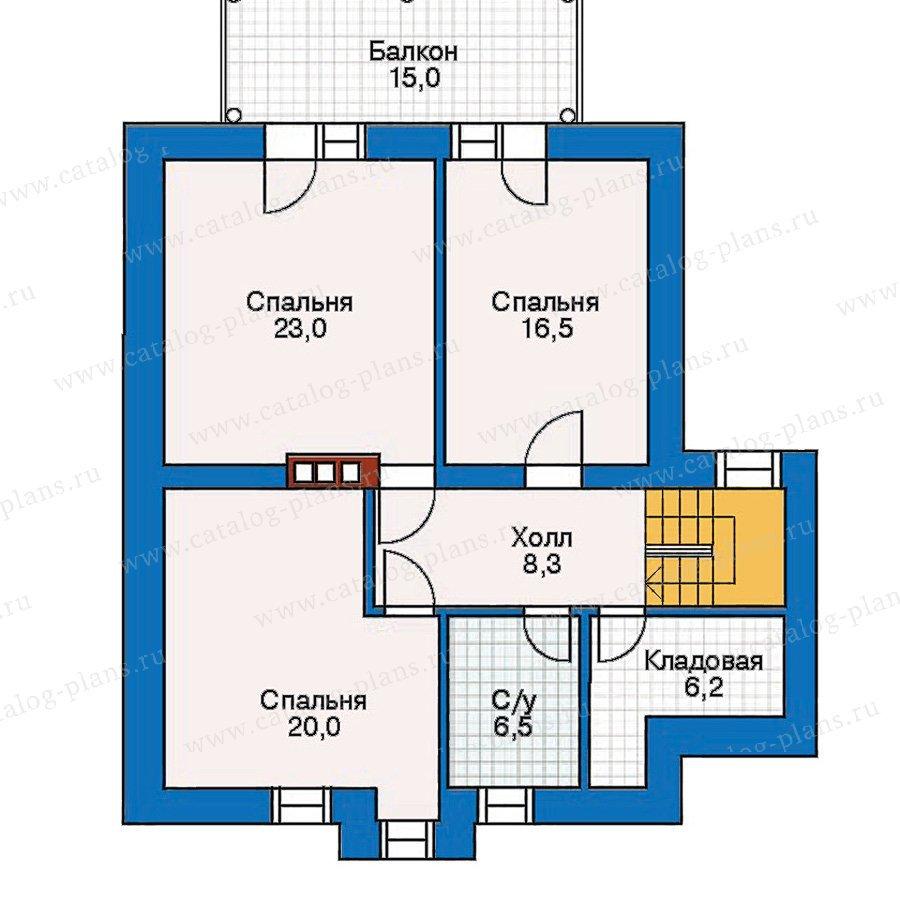 План 3-этажа проекта 30-42