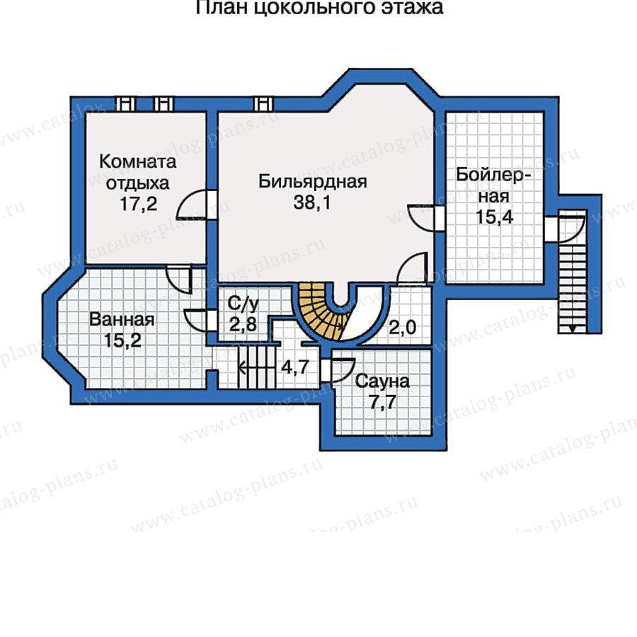 План 1-этажа проекта 30-63