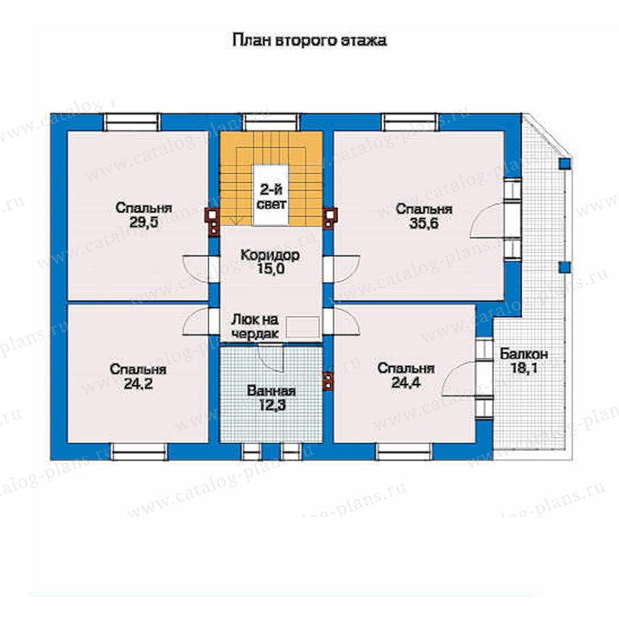 План 2-этажа проекта 31-51