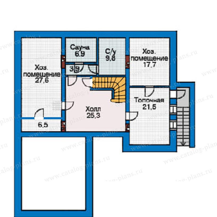 План 1-этажа проекта 31-39