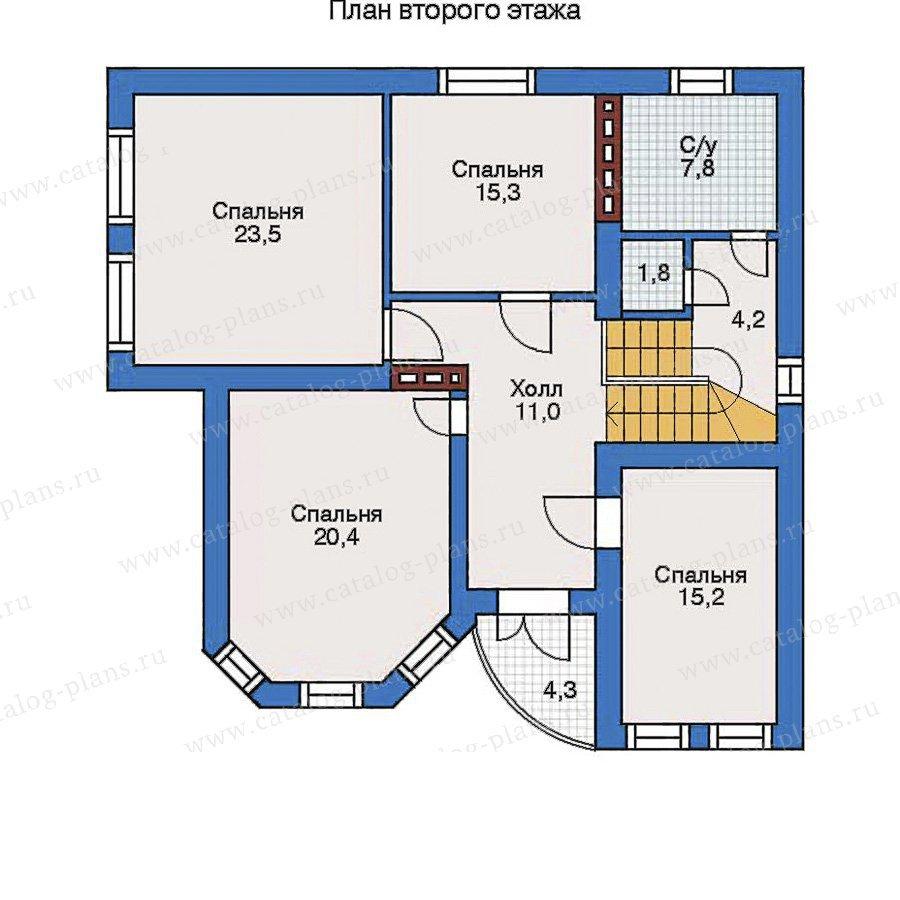 План 3-этажа проекта 31-81