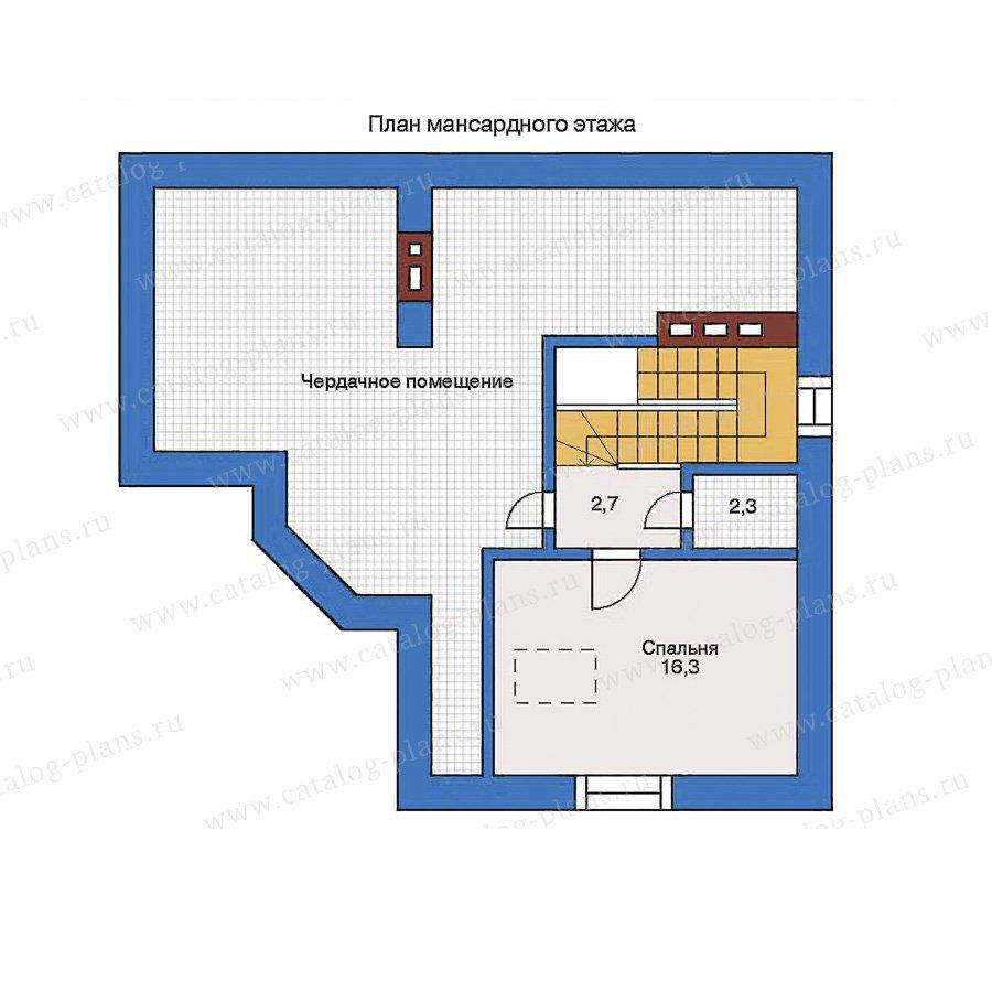 План 2-этажа проекта 31-82