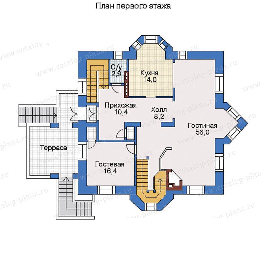 План 2-этажа проекта 31-00