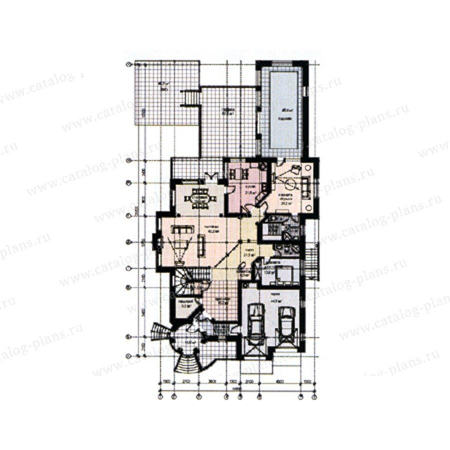 План 2-этажа проекта 31-08