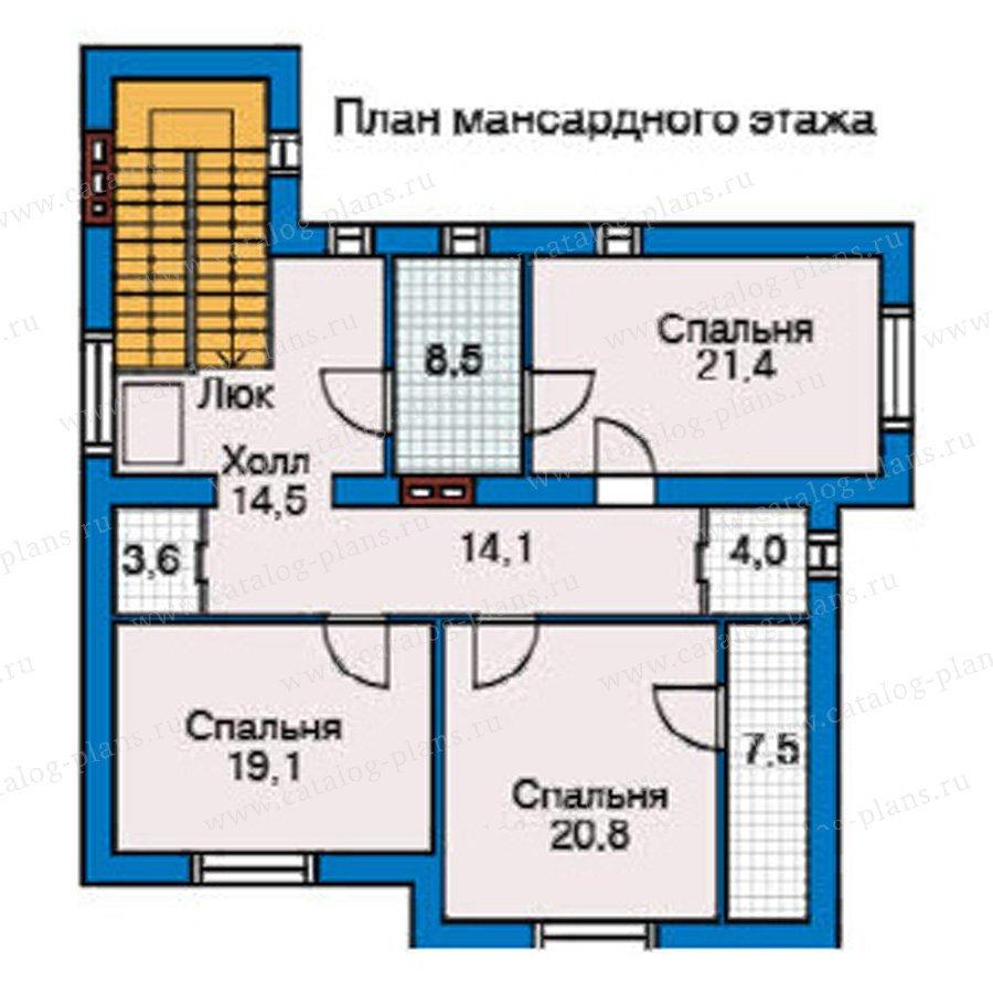План 2-этажа проекта 31-38