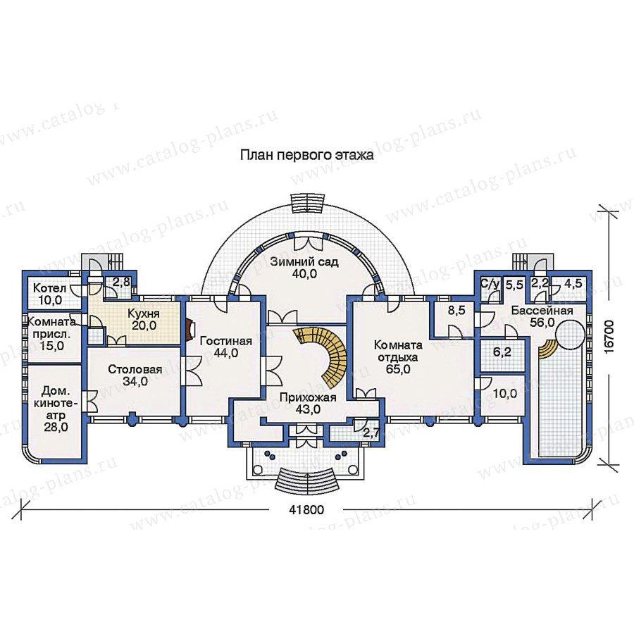 План 1-этажа проекта 31-27