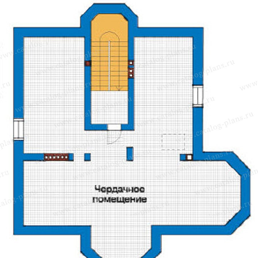 План 3-этажа проекта 31-40