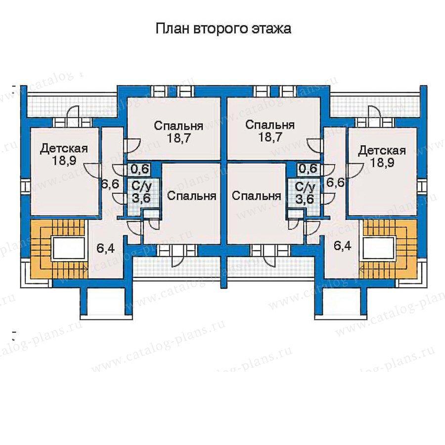 План 3-этажа проекта 30-97