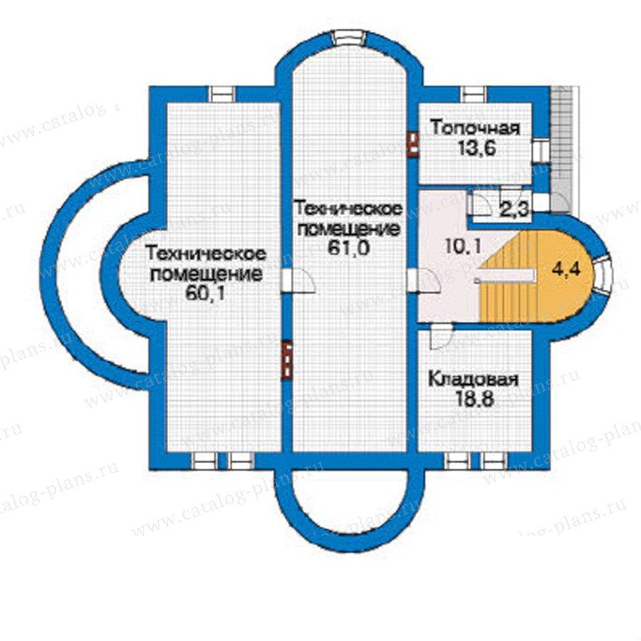 План 1-этажа проекта 31-24