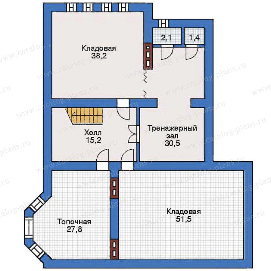 План 1-этажа проекта 31-61
